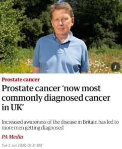 Prostate Cancer Most Common In UK