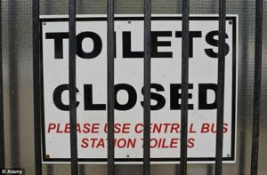 Prostate Cancer - Toilets Closed